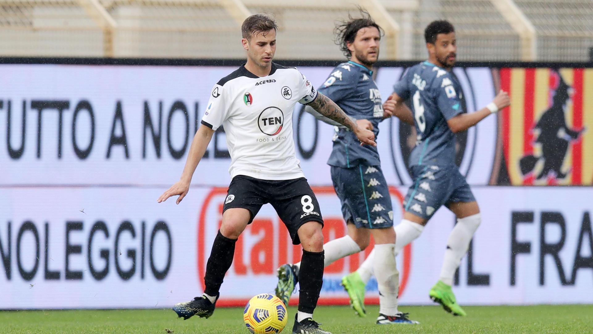 SPEZIA-BENEVENTO 1-1: gli highlights